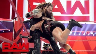 """Woken"" Matt Hardy & Bray Wyatt vs. Heath Slater & Rhyno: Raw, June 18, 2018"