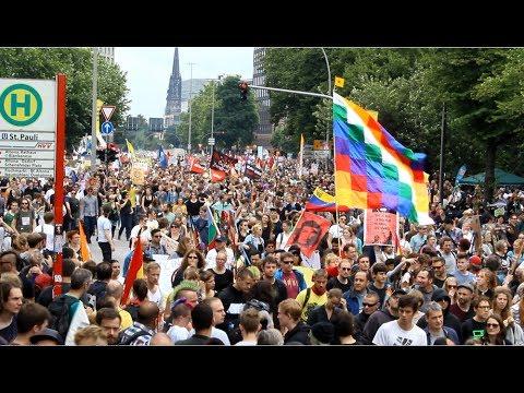 G20 Hamburg Grenzenlose Solidarität Demo 100.000 Teilnehmer