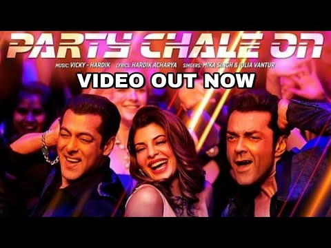 Party Chale on video song | Race 3 songs | Salman Khan, Mika Singh, Iulia Vantur, Vicky Hardik