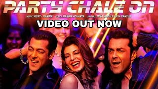 Party Chale on video song | Race 3 songs | Salman Khan, Mika Singh, Iulia Vantur, Vicky Hardik