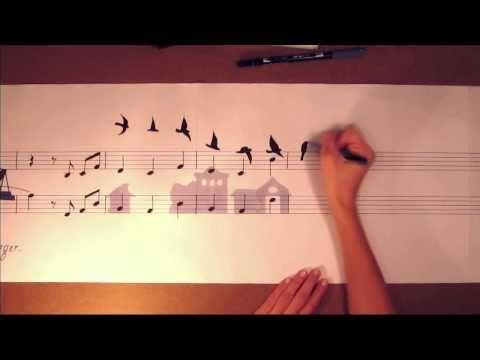 ציור מוסיקלי נגד ההתחממות הגלובאלית