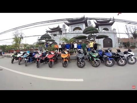 Exciter 150 Touring & Phượt Hà Nội - Kỷ niệm Sầm Sơn