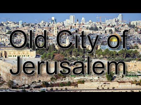 OLD CITY OF JERUSALEM - Biblical Israel Ministries & Tours