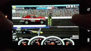 Burn Out Drag Racing