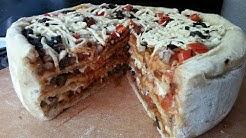 Vegan Pizza Cake