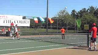Soccer Tennis Rally:  King of the Court