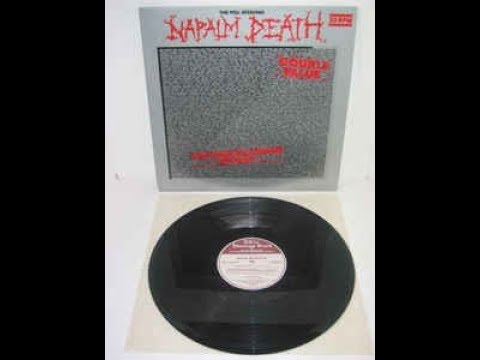 """NAPALM DEATH - The Peel Sessions 12"""" (1989)"""