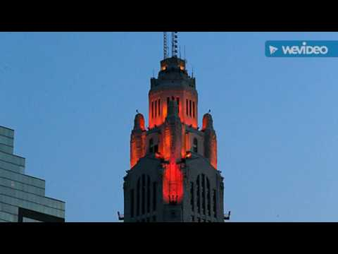 The legacy of the Icon of the Columbus Ohio skyline.  The LeVeque tower