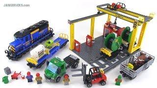 LEGO City 60052 Cargo Train set review! Summer 2014