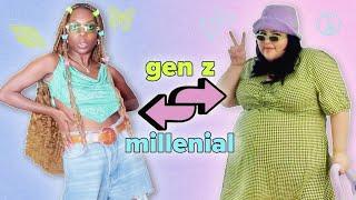 Gen Z vs. Millennial Style Swap