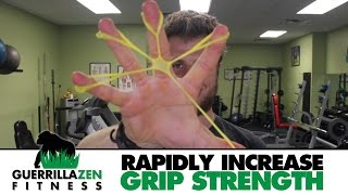 How To RAPIDLY Increase Grip Strength and Wrist Stability | Muscle Imbalance