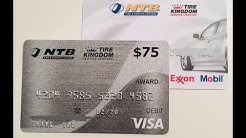 NTB Tire Kingdom (CitiBank) Credit Card Review. 0% APR 6 months and $75 Visa Gift Card