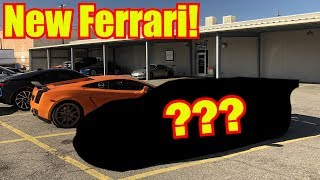 homepage tile video photo for Buying my Dream Ferrari!