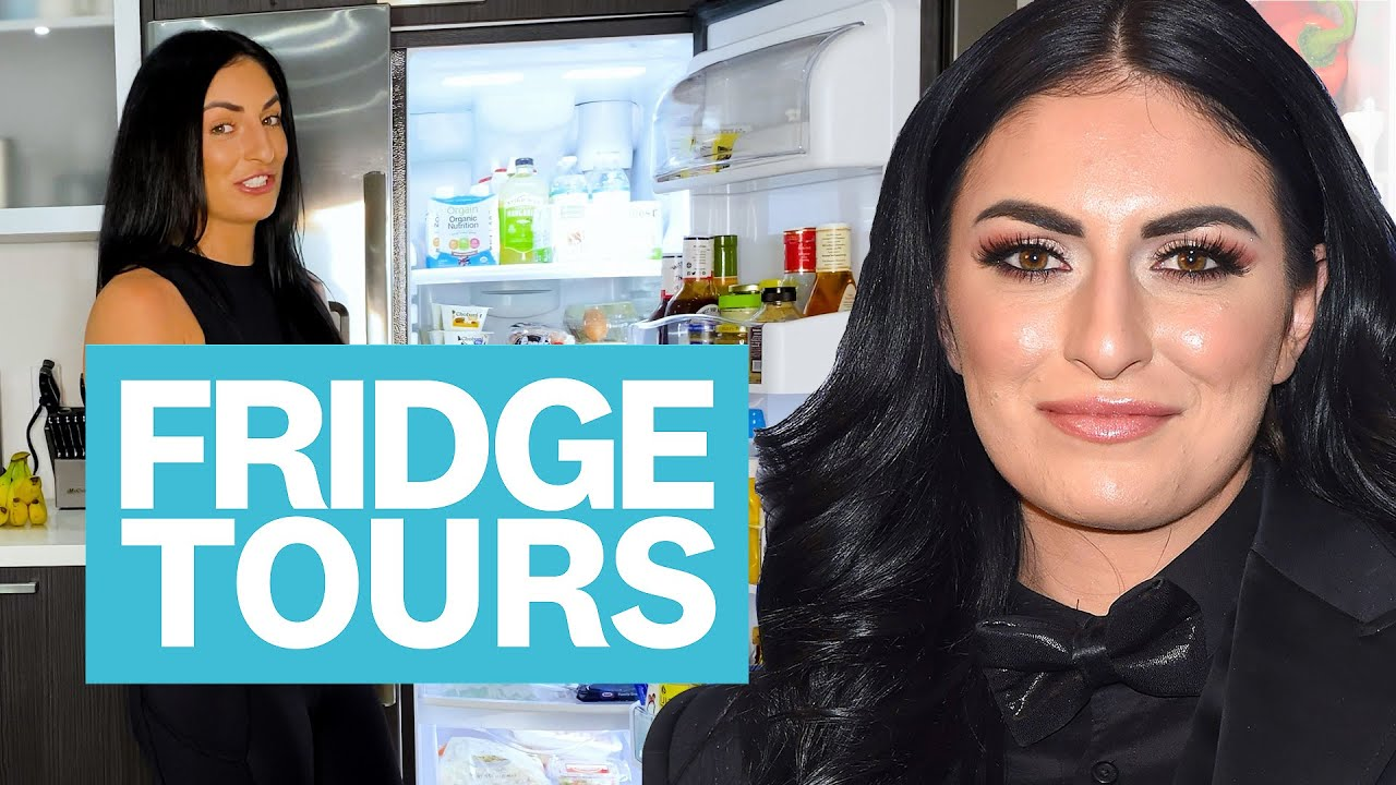 What WWE Superstar Sonya Deville Eats to Fuel Her Active Lifestyle   Fridge Tours   Women's Health