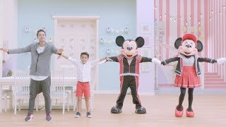 Wave Step | Stay Fit with Mickey and Minnie | Disney India
