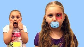 Bebelusul cu OCHIUL VANAT Poveste pentru copii