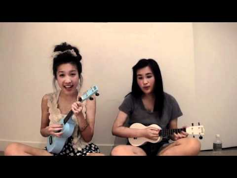 The Lazy Song Bruno Mars Ukulele Cover Olive And Petal Youtube
