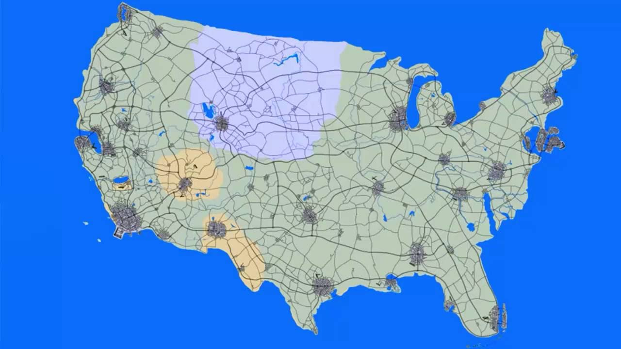 GTA 6 Map Might Include Your City If You live In The USA - YouTube