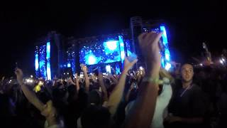 steve aoki drops arona summer festival crowd view