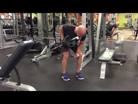 Landmine Single Arm Barbell Row