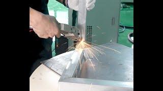 금속 집기 프레임 전용 정밀 용접기 --- FHBS L…