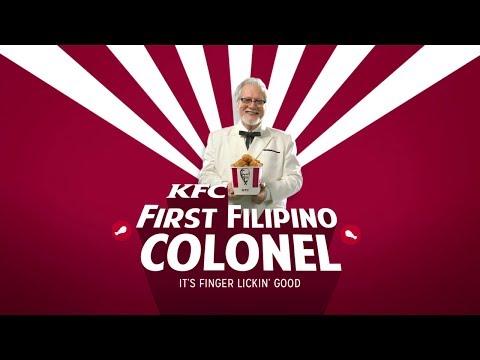 The First KFC Filipino Colonel