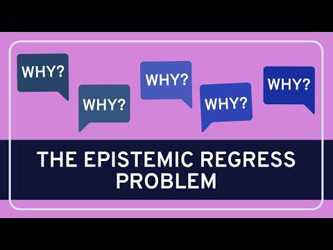 The Epistemic Regress Problem - Epistemology | WIRELESS PHILOSOPHY