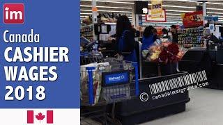 Cashier salary in Canada | Jobs in Canada 2018