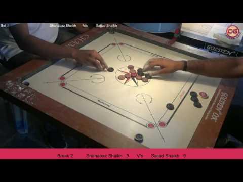 QF Sajjad Shaikh vs Shahabaz Shaikh Set 1 Mumbai Suburban District Carrom Organised Mayor Cup