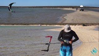 Kitesurfing Tethered Self-Launching  and Landing  KiteBud Kitesurfing Lessons Perth