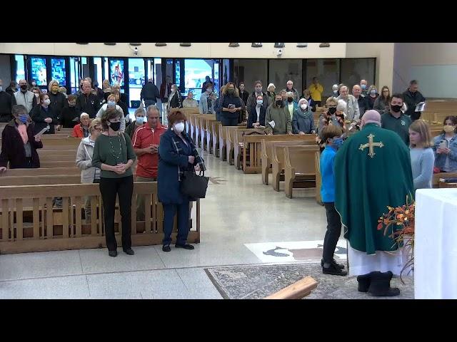 October 23, 2021 - 4:30pm Vigil Mass