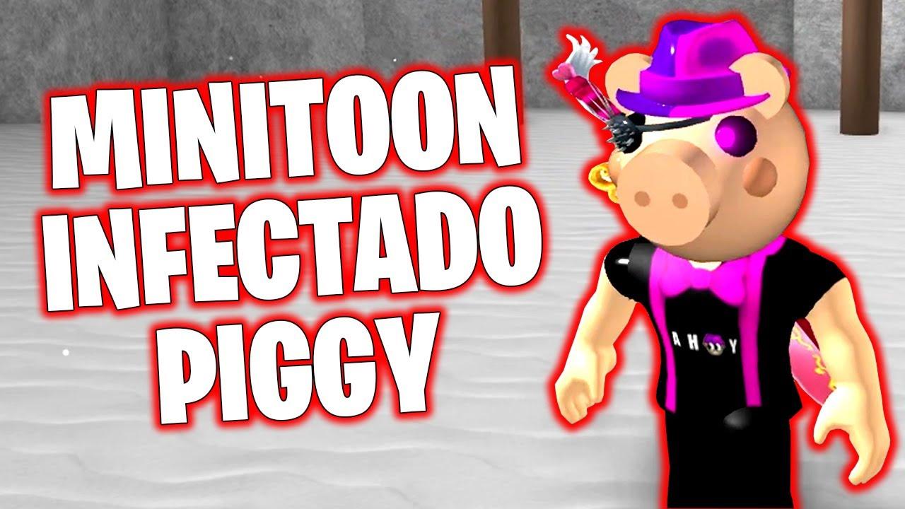 COMO TENER Y JUGAR CON LA SKIN DE MINITOON (INFECTADO) PIGGY 🐷 ROBLOX