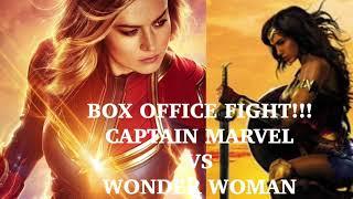 BOX OFFICE FIGHT!! CAPTAIN MARVEL VS WONDER WOMAN