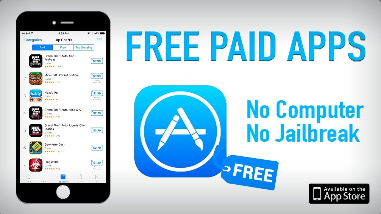New Download App Store Paid Games Apps For Free