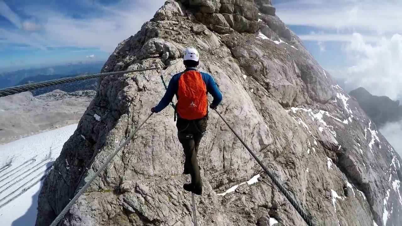 Klettersteig Dachstein : Hoher dachstein klettersteig auf den höchsten gipfel der