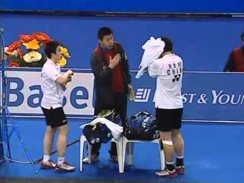 swiss open 2008 Hanbin HE 5 Yang F YU vs Anthony CLARK Donna KELLOGG Swiss Open 2008 Final1