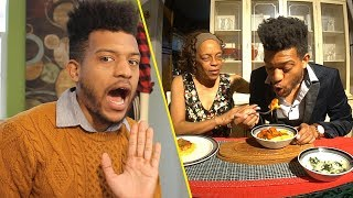 Making My Mom A Fake Cooking Show