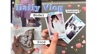 【Daily Vlog】 原宿モデル撮影&食べる日하…