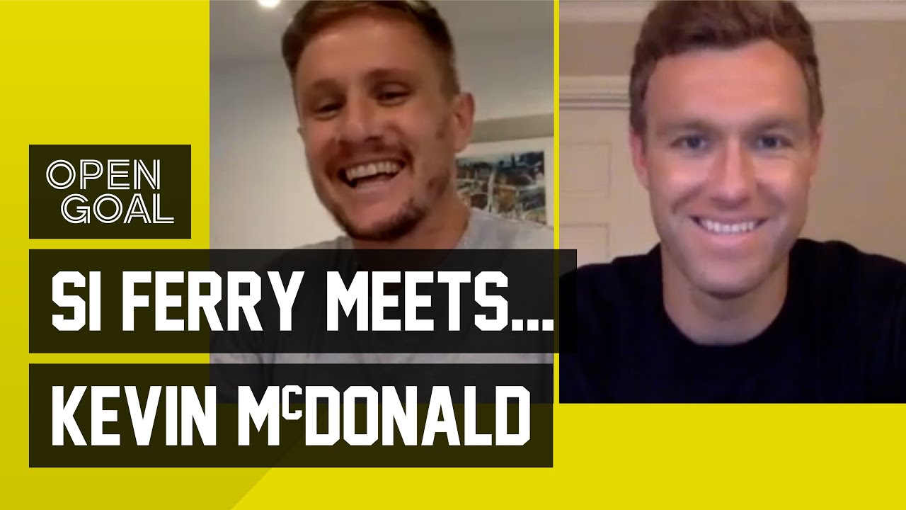Si Ferry Meets... Kevin McDonald | Funniest Football Stories from Fulham, Burnley, Wolves & Dundee