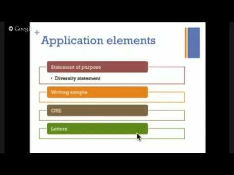 MMUF Webinar: What is Graduate School?