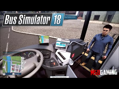 Bus Simulator 18   Day 2   MDS Gaming  