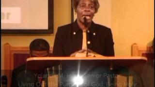 RAWC Service - Living Out the Purpose of God Series: Being Holy - 12-18-2011