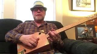 jaime garcia 4 string humbucker cigar box guitar