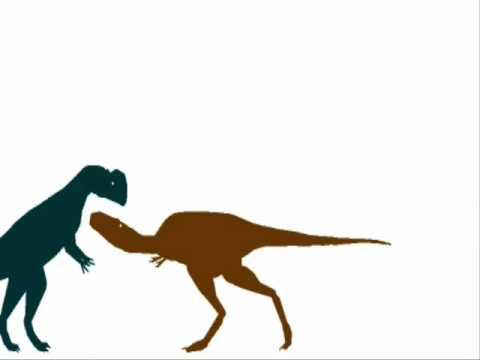 ASDC - Dilophosaurus vs Nanotyrannus