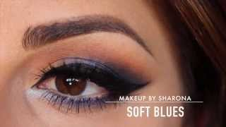 "Soft Blues using ""Blue Me Away"" palette"
