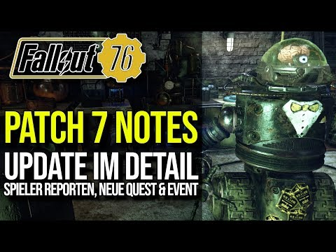 Patch 7 im Detail | Spieler Report, Nukashine, CAMP uvm. | Fallout 76 thumbnail