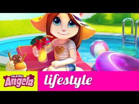 Talking Angela - Inside My Bag (Pool Edition)