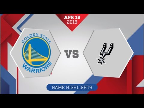 San Antonio Spurs vs Golden State Warriors Game 2: April 16, 2018