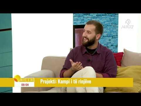 Гостување на МИМО на ТВ Алсат [Теодора Столевска, Фари Хисени]
