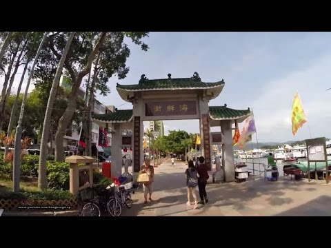 【Hong Kong Walk Tour】Sai Kung Harbour Front with live seafood 西貢海旁 @ weekdays 3:00 pm